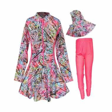 rainy-collections_baju-renang-anak-muslim-motif-abstrak-batik-size-sd_full02 Review Harga Model Busana Muslim Batik Anak Termurah bulan ini