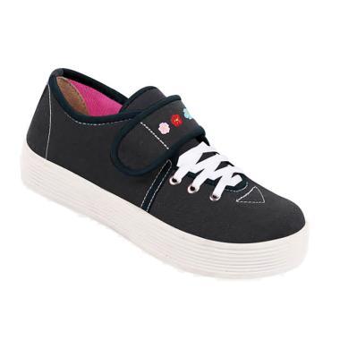 Zeintin ZSAP17 Sepatu Anak Perempuan - Hitam
