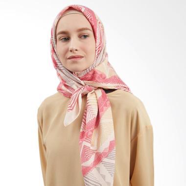 LAMAK Naura Square Shawl Hijab - Pink