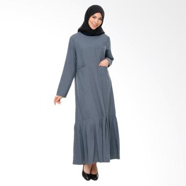 Rauza Rauza Karina Dress Muslim - Abu-abu