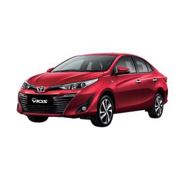 Toyota New Vios E Mobil - Red Mica Metallic [Uang Muka Kredit MTF]
