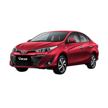 Toyota New Vios G CVT Mobil - Red Mica Metallic [Uang Muka Kredit MTF]