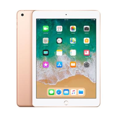 Apple New iPad 2018 32 GB Tablet - Gold [9.7 Inch/ Wifi + Cellular]