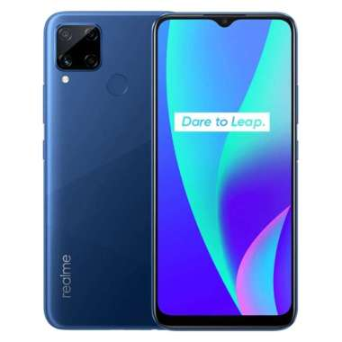 harga Realme C15 Smartphone [64GB/ 4GB/ K] + Star Wars BB-8 Popsocket Blue Blue Blibli.com