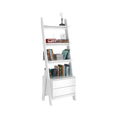 Pro Design Lambda Rak Kabinet - White Wood [2 Laci]