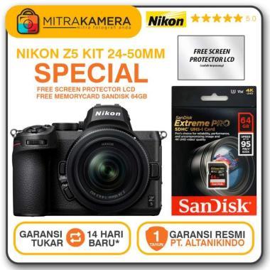 harga Nikon Z5 Mirrorless Digital Kamera Kit 24-50mm Blibli.com