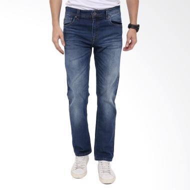Edwin Slim Fit Celana Jeans Pria - Medium Blue [NY 07]