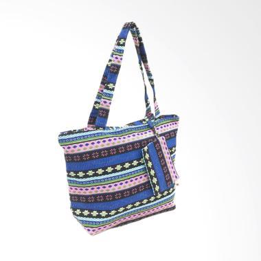 Fancy B 185 Pattern Tas Import Tote Bag Tas Wanita
