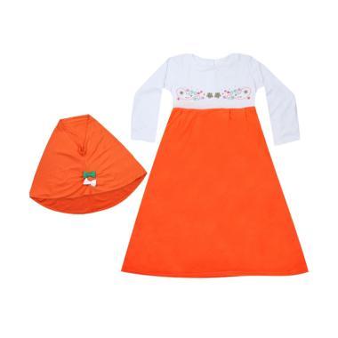 MacBear MacBee Kids Shakila Muslimah Baju Gamis Anak