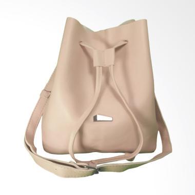 KarnaKamu Tali Serut Simple Sling Bag Wanita - Pink 26ad40d07d