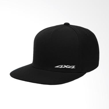 IndoClothing 4x4 Topi Snapback Pria - Hitam