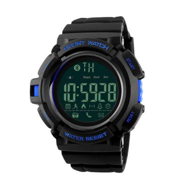 Skmei Water Resistant 1245 Jam Tang ...  Smart Watch - Black Blue
