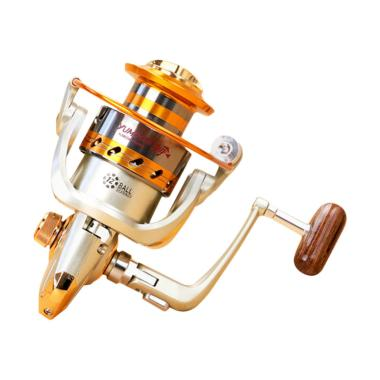 Yumoshi EF6000 Metal Fishing Spinni ... aring Reel Pancing - Gold
