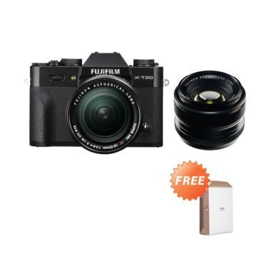 Fujifilm XT20 / X-T20 kit XF 18-55m ... 5mm F/1.4 R GARANSI RESMI