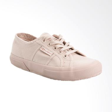 Superga 2750 Cotu Classic Sneaker Shoes Wanita - Total Pink Skin