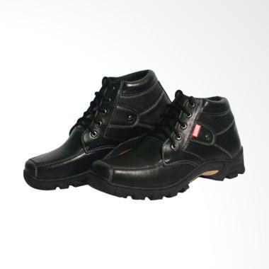 Harley Davidson Sepatu Boots Pria - Hitam