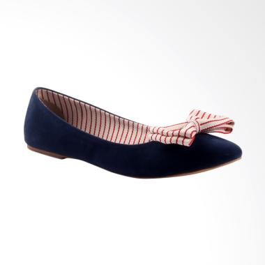 REVIEW Farish Merina Flat Shoes Sepatu Wanita - Blue TERUPDATE ... e74b735e88