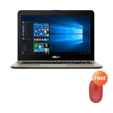 Asus X441BA-GA601T Notebook - Choco ...  Flame Red Wireless Mouse