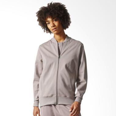 adidas XBYO Track Top Jaket Olahraga Wanita - Grey [BP6096]