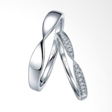 Tiaria Harmonious Line Cincin Couple [9K]
