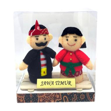 MMS Pakaian Adat Jawa Timur Boneka