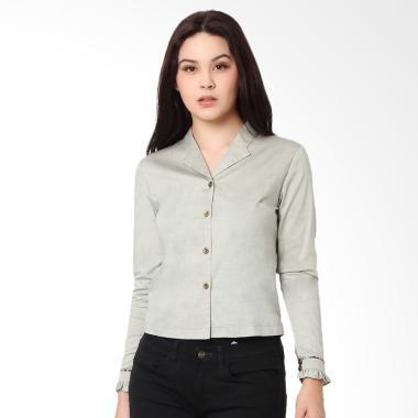 Agatha 4787.B Brinley Shirt Kemeja Wanita - Grey