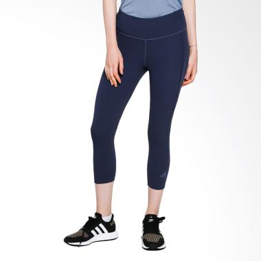 adidas Women Running How We Do 3/4 Tight Celana Olahraga Wanita - Trace Blue [CG1108]