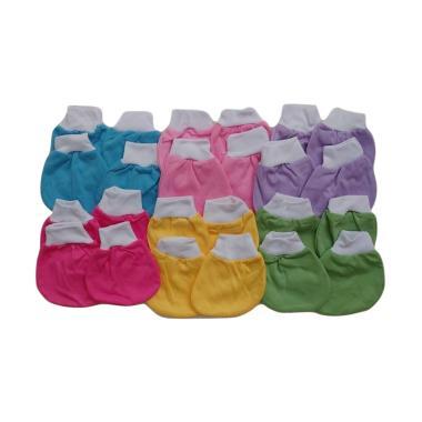 JELOVA Okeboo Polos Set Sarung Tang ... i - Multicolor [6 Pasang]