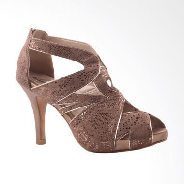 Farish Medela High Heels - Brown