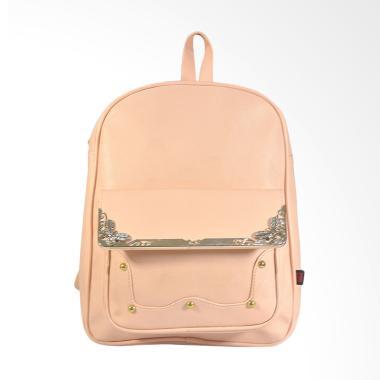 JAVA SEVEN VIS 160 Backpack Wanita - Peach