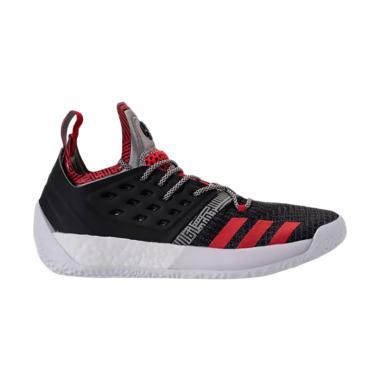 adidas Harden Vol.2 Sepatu Basket Pria - Black Red