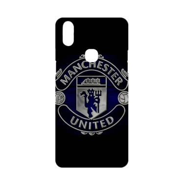 Cococase Black Manchester United Logo J0262 Casing for Vivo V9