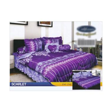 California Motif Scarlet Set Sprei