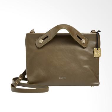 Skagen Mikkeline Mini Satchel Bag Wanita - Dark Green