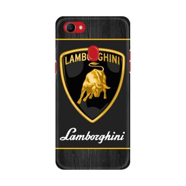Flazzstore Lamborghini Logo X3235 Premium Custom Casing for Oppo F7