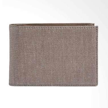 Skagen Ernst Leather Bifold Wallet  ... r Dompet Pria - Dark Grey