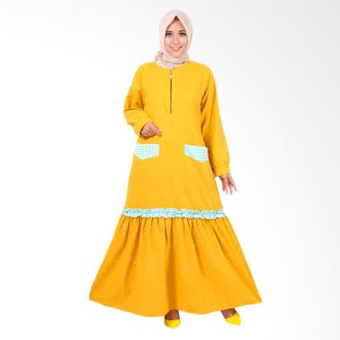 Edberth Fashion Gracelina Gamis Long Dress Muslim Wanita