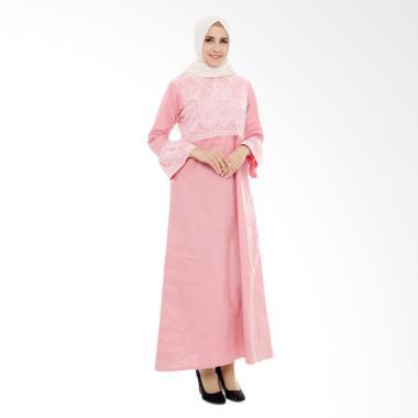 baju-island_baju-island-mecca-nursingwear-baju-menyusui---baby-pink_full05 Koleksi List Harga Jual Gamis Brokat Terbaru tahun ini