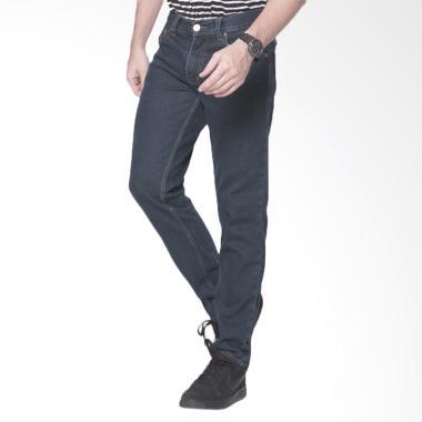 2Nd RED Basic Regular Fit Celana Jeans Pria - Blue Grey [124193]