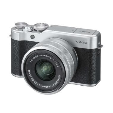 Fujifilm X-A20 Kit 15-45mm OIS PZ Kamera Mirrorless
