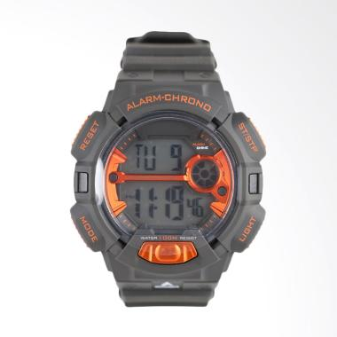 Eiger Digital Jam Tangan Pria - Grey Orange [YP12575]