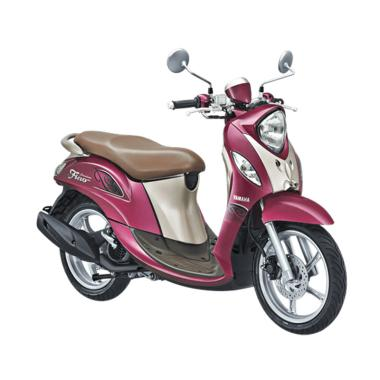 Yamaha New Fino Premium 125 Blue Core Sepeda Motor [VIN 2018/ OTR Jawa Tengah]