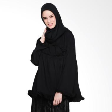 Covering Story Varra Top Blouse Muslim Atasan Wanita - Black