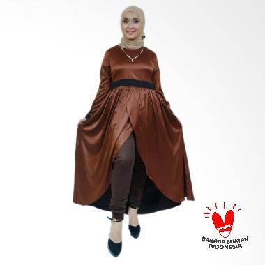 Mulaika Gamis Izza Dress Muslim Wanita