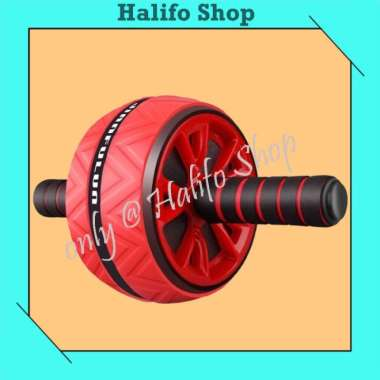 harga Abs Roller Wheel Exercise untuk Alat Latihan Fitness Otot Perut - Hitam Semua Ukuran Multicolor Blibli.com