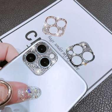 harga Ring Pelindung Lensa Kamera Aksen Berlian Imitasi Untuk Iphone 11 Pro Max 11 Pro Max Blibli.com