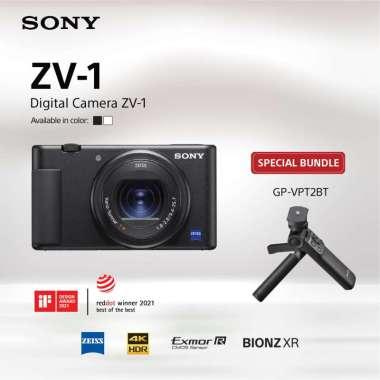 harga Sony Center Jakarta - SONY ZV-1 / Sony Original ZV1 / Kamera Digital Sony ZV-1 warna Hitam Bundling GP-VPT2BT Black Blibli.com