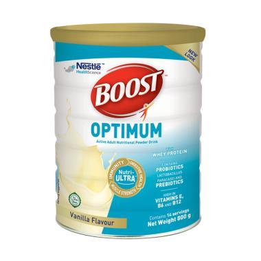 Nestle Boost Optimum Susu Bubuk Vanila [800 g/ Kaleng]