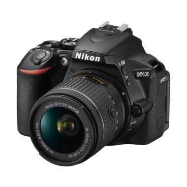 harga Nikon D5600 Kit 18-55mm Kamera DSLR Free SDHC 16GB, NIkon Bag Size M - Braga Photo Video Blibli.com