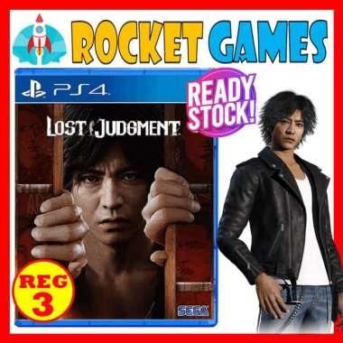 harga Rocket Games - PS4 Lost Judgment / Lost Judgement Blibli.com